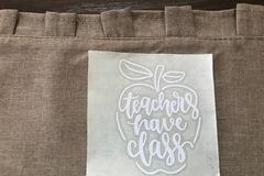 Buy Now: Popular Teacher Decals. 7 Fun Designs. 70 pieces total!