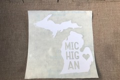 Liquidation Lot: The State Of Michigan Decals. 15 Fun Designs! 150 pieces!