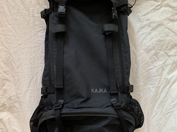 Renting out (per night): Fjällräven kajka 75 / musta