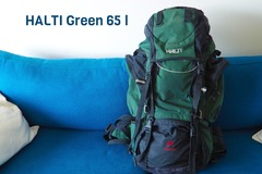 Renting out (by week): Halti Rinkka Green 65 l