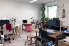 Renting out: Vapaita pöytäpaikkoja Työhuone Siltasaaressa