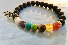 Selling with online payment: Chakra Bracelet
