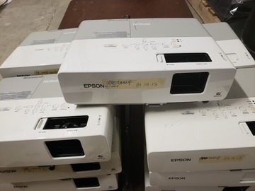 Buy Now: Lot of 5 Epson PowerLite 83+ Projectors