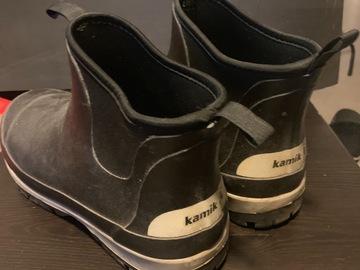 Selling: Kamik rain boots size 44