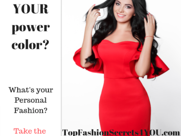 Coaching Session: TOP FASHION SECRETS 4 YOU!  Glenda Feilen - Online Coaching