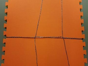 Myydään: Lasten Palapelimatto 240 x 180 x 1 cm