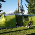 Renting out (per night): Perheteltta, Vango Longleat 800xl