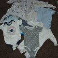 Selling with online payment: Vest bundle - age 3-6 Mths