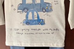 Selling with online payment: Car outfit - age 6-9 Mths