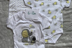 Selling with online payment: Unisex elephant vests, age 6-12 Mths