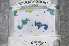 Selling with online payment: Swaddle dinosaur, age 1-3 Mths