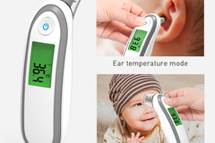 Buy Now: 38 Infrared Digital Thermometer - Forehead or Ear -MSRP $1,139.62