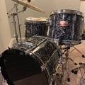 Question: Pearl black abalone maple MX drum set