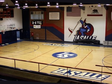 Available to Book: La Salle HS - Lewis Gymnasium