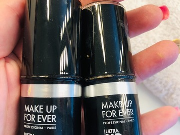 Venta: Pack 2 sticks Makeup Forever. Un solo uso!!!