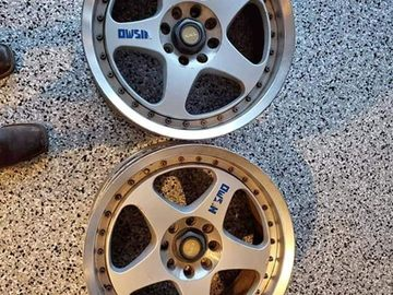 Selling: Two Nismo LMGT2 wheels