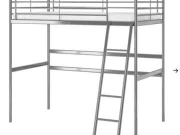 Myydään: Ikea loft bed frame