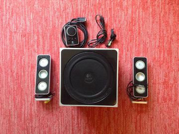 Selling: Logitech Z4 -  Desktop Speakers