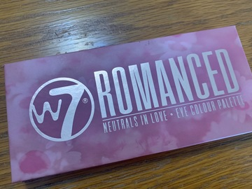 Venta: Paleta Romanced W7