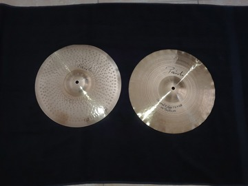 SOLD!: SOLD! Paiste sound edge 14 inch hi hats , signature series