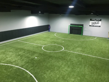 Available!: Juke Indoor Soccer Training Facility