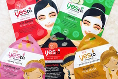 "Buy Now: 240 ""Yes To"" Face Masks - Tomatoes, Cucumber, Grapefruit - $960"