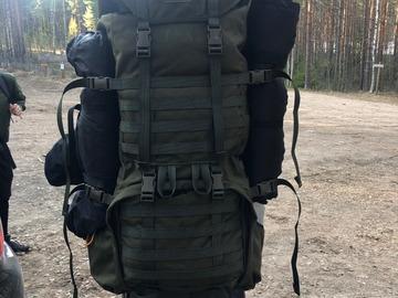Uthyres (per vecka): Savotta Jääkäri XL (Jääkäri-rinkka)