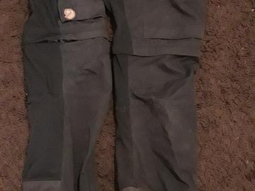 Vuokrataan (viikko): Fjällräven keb gaiter housut koko 36 (musta)