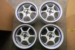 Selling: ADVAN RG WHITE 15X7 +39, 15X6.5 +35, 4X100