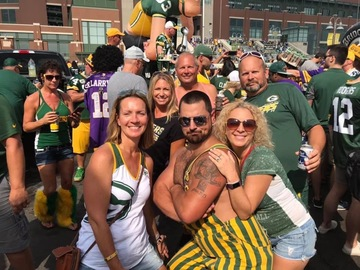 Free Events: Party with the best at Lambeau! Packers vs Raiders