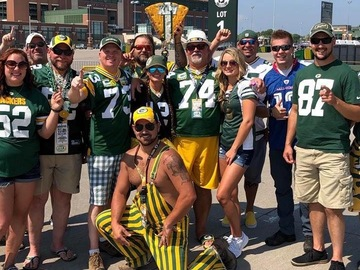 Free Events: Party with the best at Lambeau! Packers vs Panthers