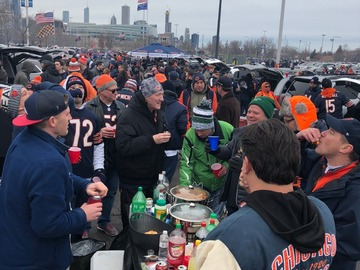 Paid Events: Bears vs Packers tailgate!!! 100 year celebration