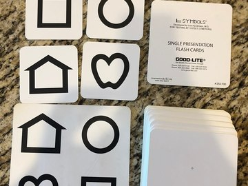 Selling with online payment: Good-lite Lea Symbol Cards