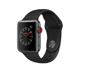 Liquidation Lot: NEW Apple Watch, Gen3, Series3,38mm, Space Gray, Al, 4PCs