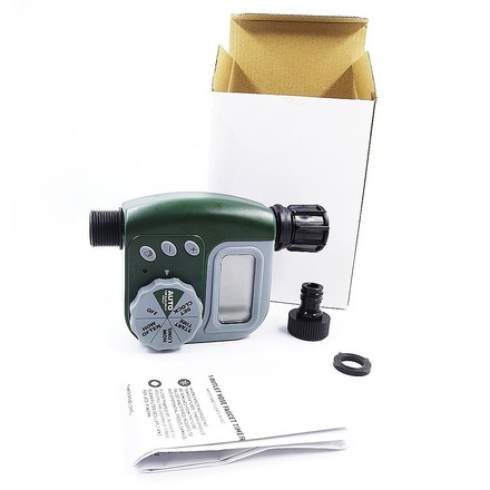 200) LED Electronic Controller Garden Water Timer- Green