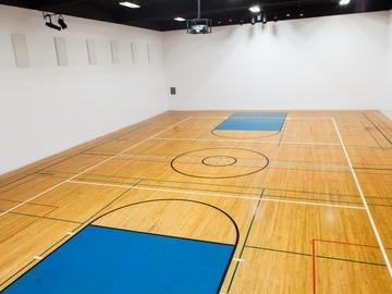 List My Hourly Availability: SIJCC - Large Gymnasium With Basketball Floors