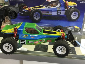 Selling: Kyosho Optima 4wd