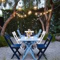Group class : Magical Paint Night in a dreamy Venice backyard