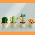 Class Online Payment: Clay Modeling 101 - Make your own little garden in a garden oasis
