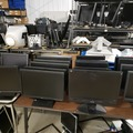 "Liquidation Lot: Lot of 10 B Grade 17"" Flat Panel Monitors"