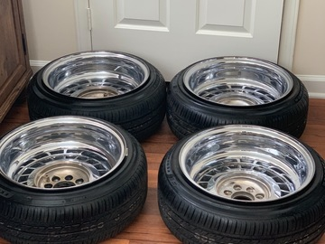 Selling: KMC 2 piece wheels