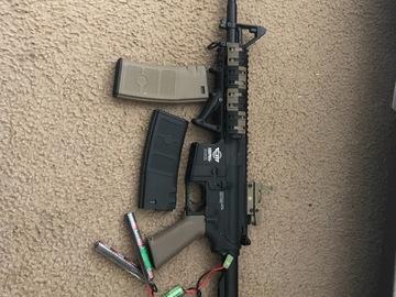 Selling: G&g cm16 raider