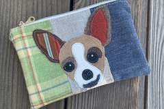 Selling: Chihuahua Dog Travel Bag, Pet Lover Gift, Dog Purse