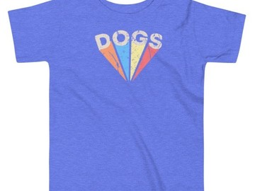 Selling: Toddler T - Dogs shirt