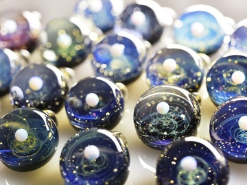 Group class : Glass blowing  Intermediate - Pendants