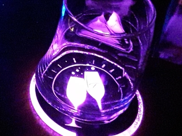 Selling with online payment: LED COASTERS