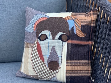 Selling: Dachshund Dog Pillow, Pet Pillow, Dog Decor, Dog Lover Gift