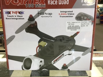 Selling: NIB Vortex 180 Mini Race Quad