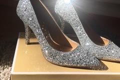 Ilmoitus: UPEAT Michael Kors glitter korkokengät koko 37