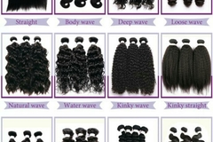 "Buy Now: Virgin Human Hair 12""-20"" Straight/Bodywave"